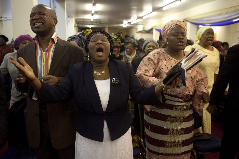 pentacostal church members