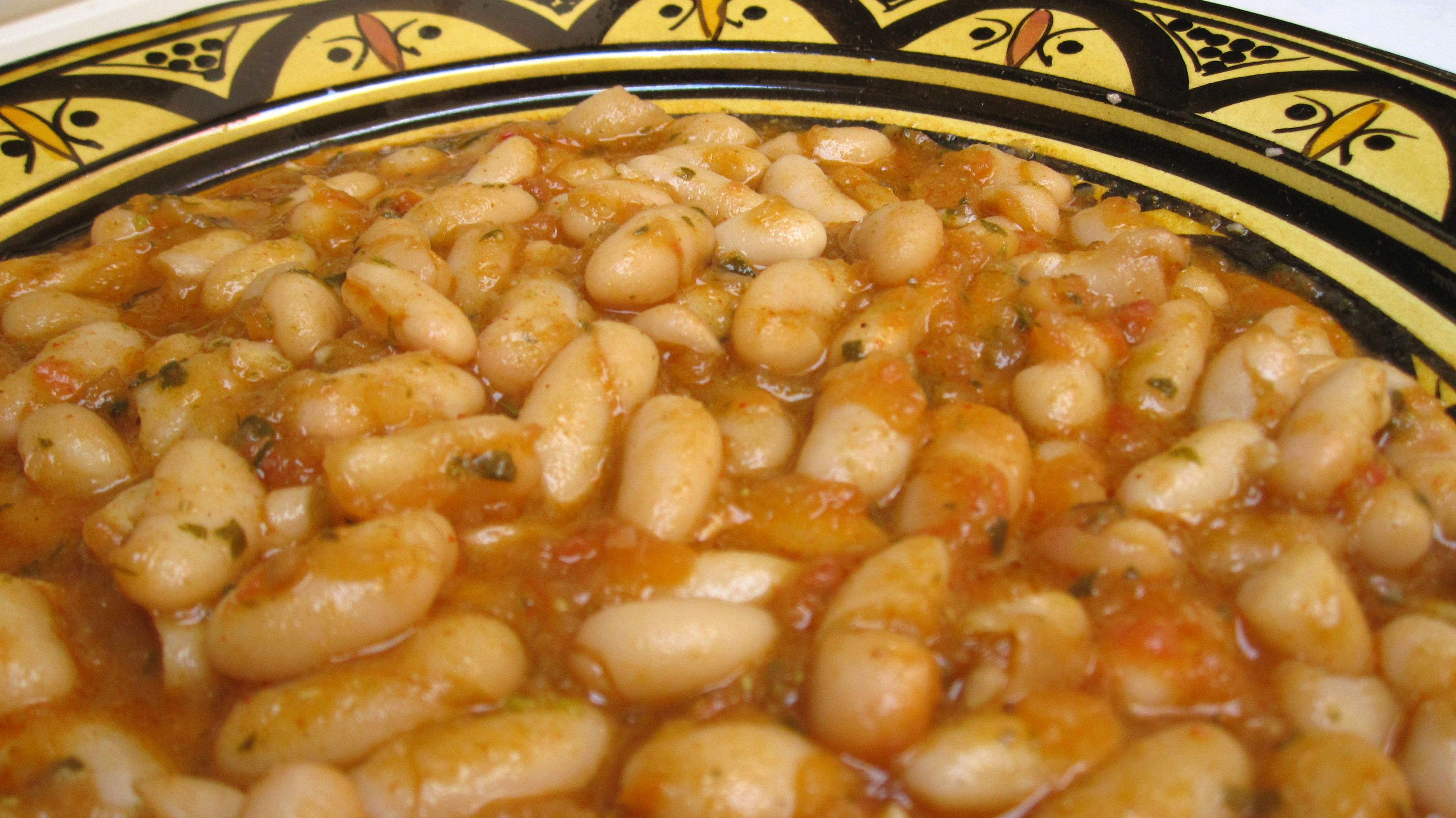 Loubia Moroccan Stewed White Beans Recipe