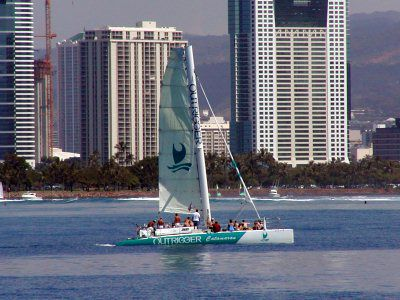 Outrigger Catamaran