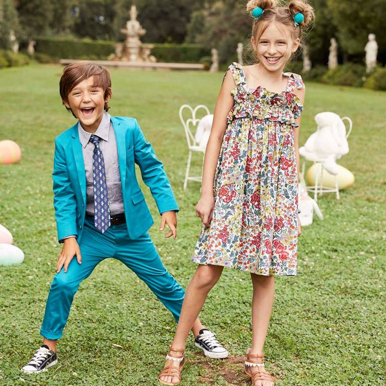 A boy and girl wearing clothes from Chasing Fireflies