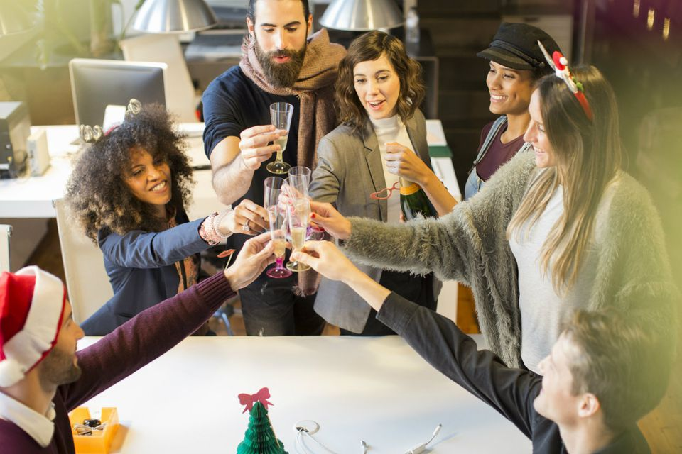 How to Make Time for the Office Holiday party