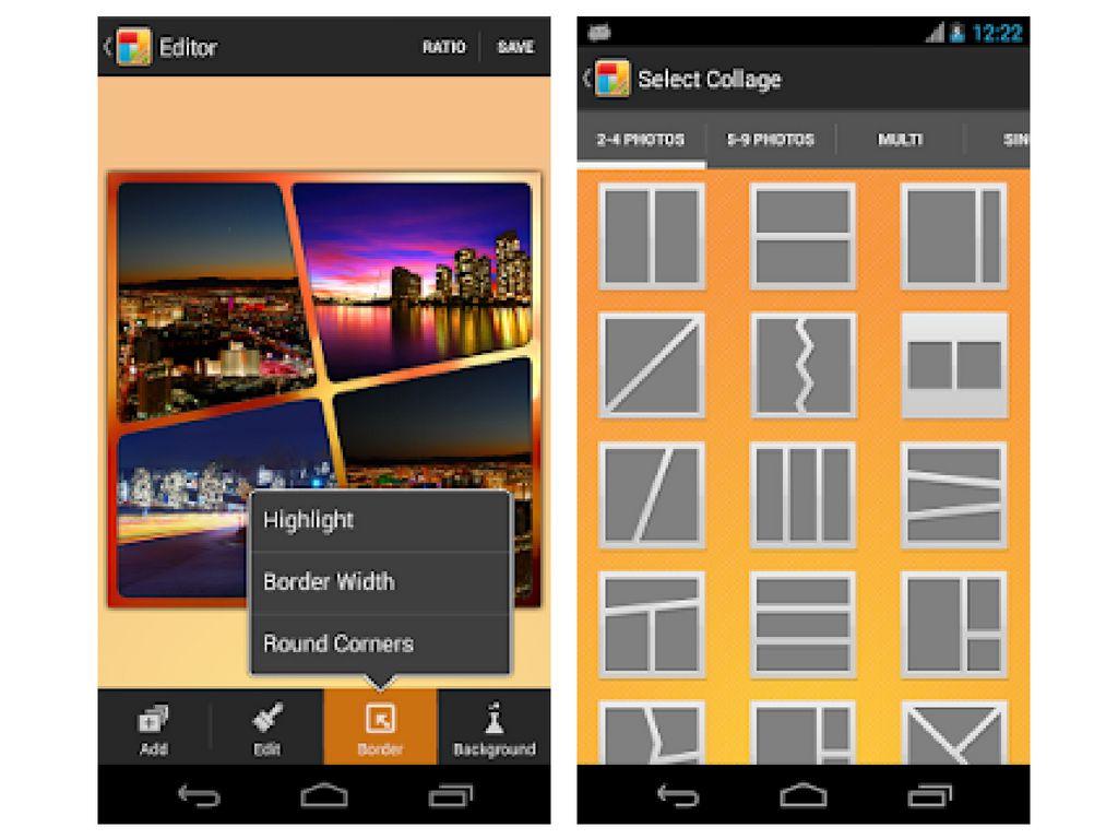 Wunderbar Collage Rahmen Editor Bilder - Benutzerdefinierte ...