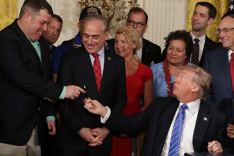 Trump's Bill Signing Pens