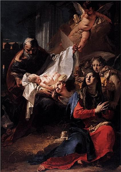 Nacimiento de Jesús de Battista
