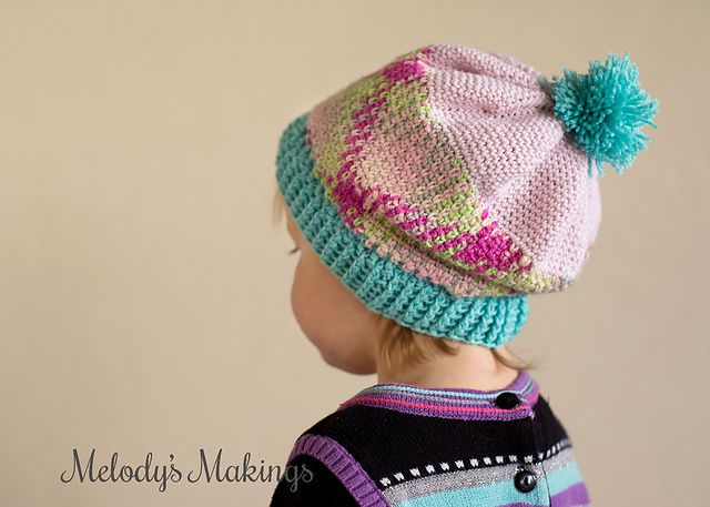 Planned Pooling Crochet Baby Hat