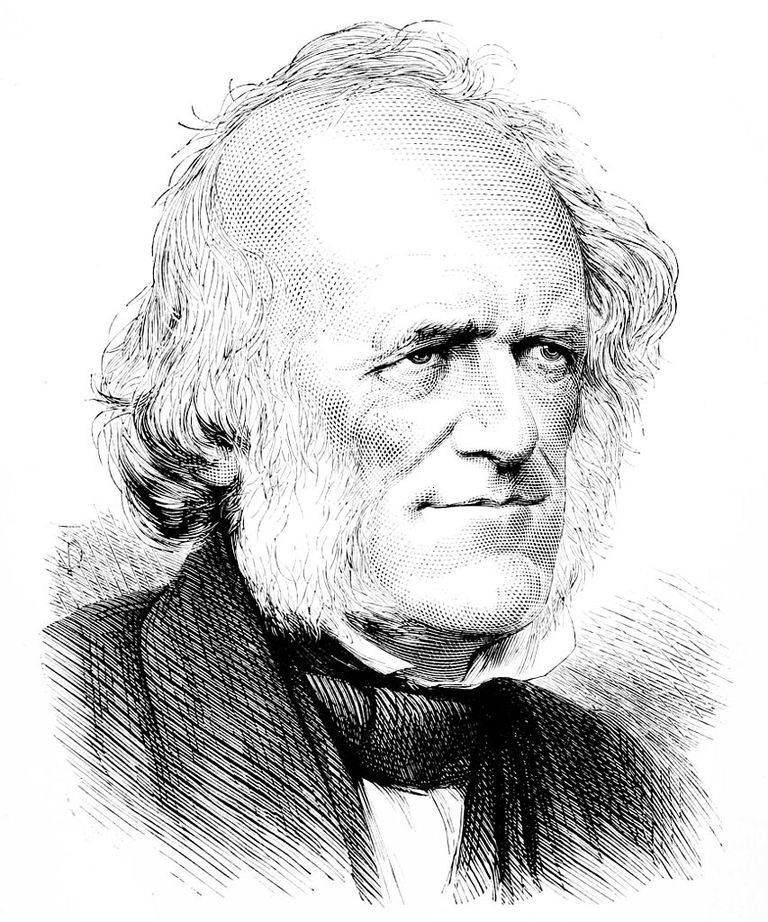 A portrait of Charles Lyell