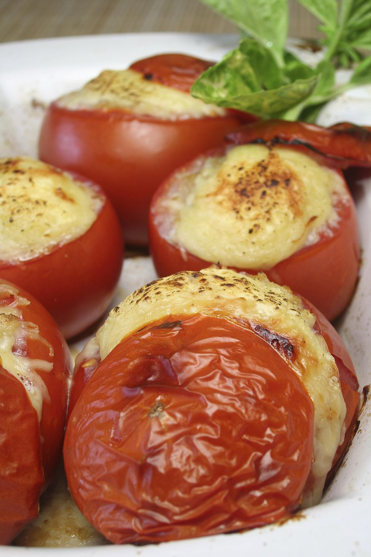 Blue Cheese Stuffed Tomatoes