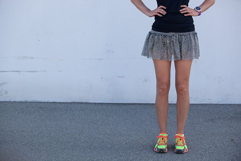 Sparkle Athletic Skirt