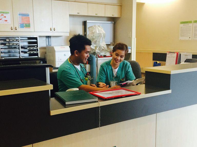 medical office staff