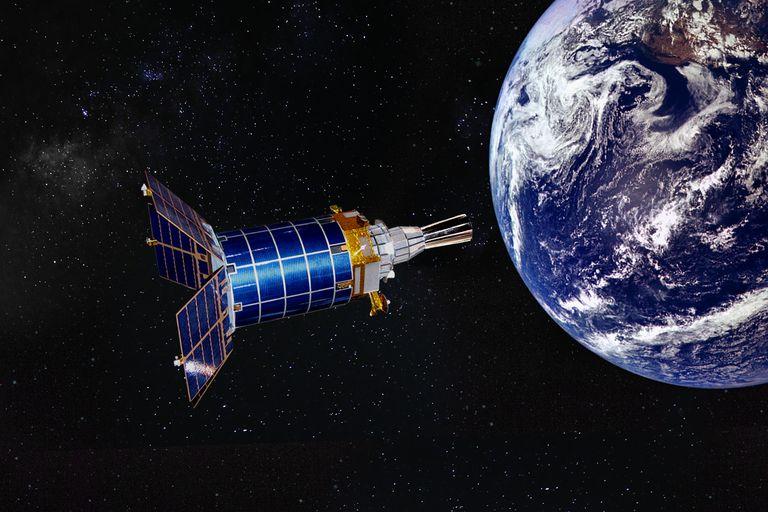 USAF Defense Support Program (DSP) satellite
