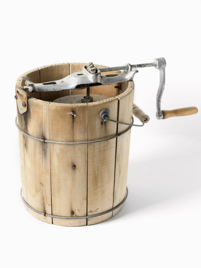 antique ice cream churn