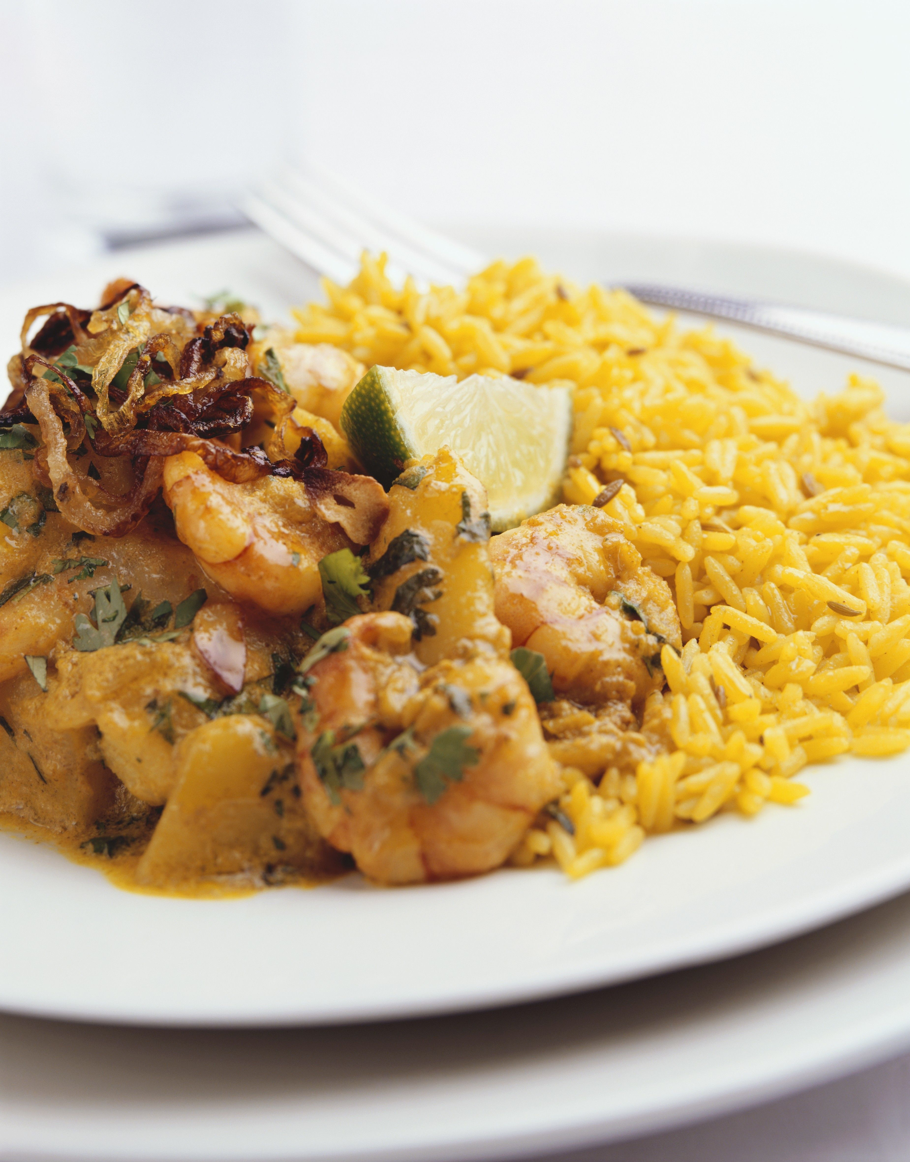 Chinese Curry Shrimp Recipe With Vegetables