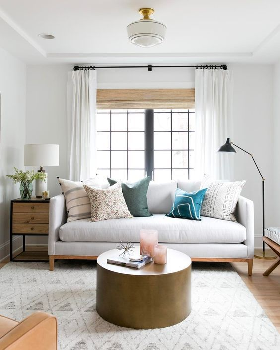 layered curtains