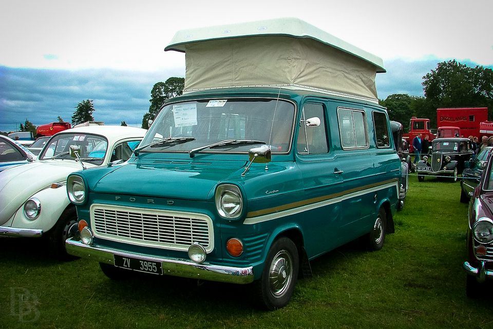 Classic Irish Camper Van Based On A Ford Transit Maybe The Best