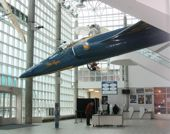 Cradle of Aviation Museum lobby