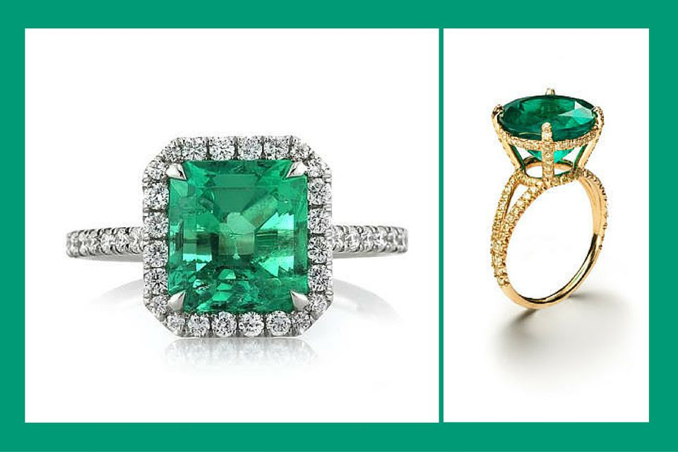 22 Emerald Engagement Rings Best Youll See All Year