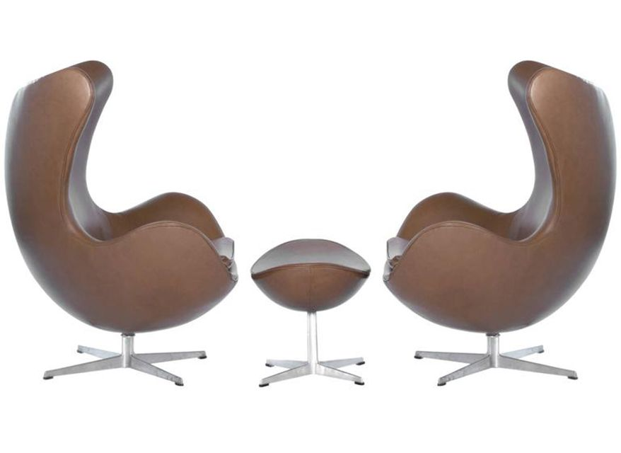 jacobsen furniture. Arne Jacobsen For Fritz Hansen Egg Chairs With Footstool, 1965 Furniture