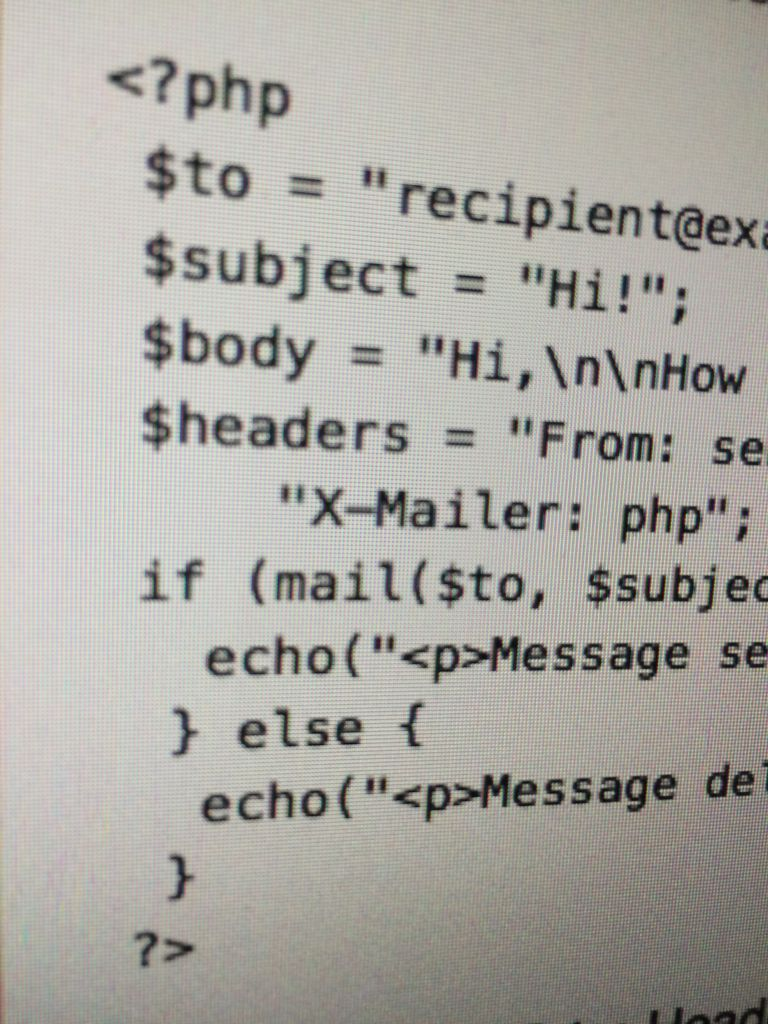 PHP email with extra headers