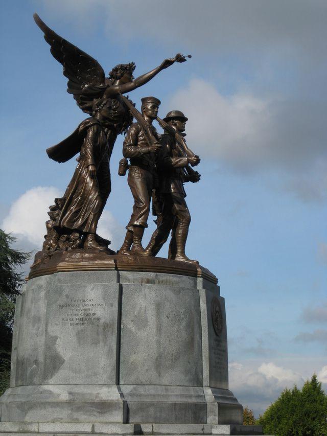 Memorials in Olympia Capitol Campus
