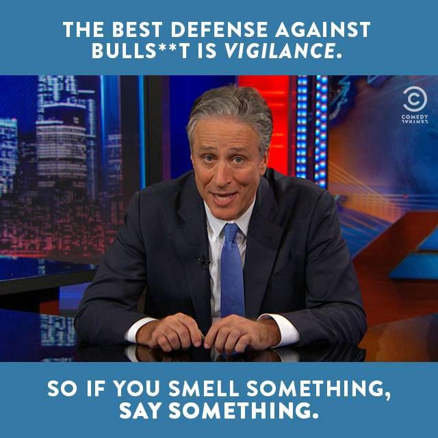 Jon Stewart on Bullshit