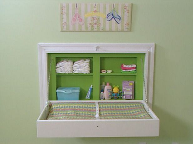 5 space saving changing table alternatives for your nursery