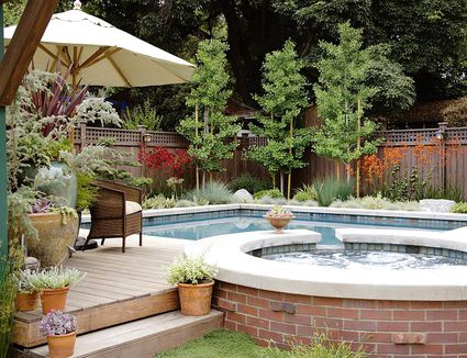 Poolside Garden Ideas Landscaping ideas for pool areas pictures poolside plants that look like paradise workwithnaturefo