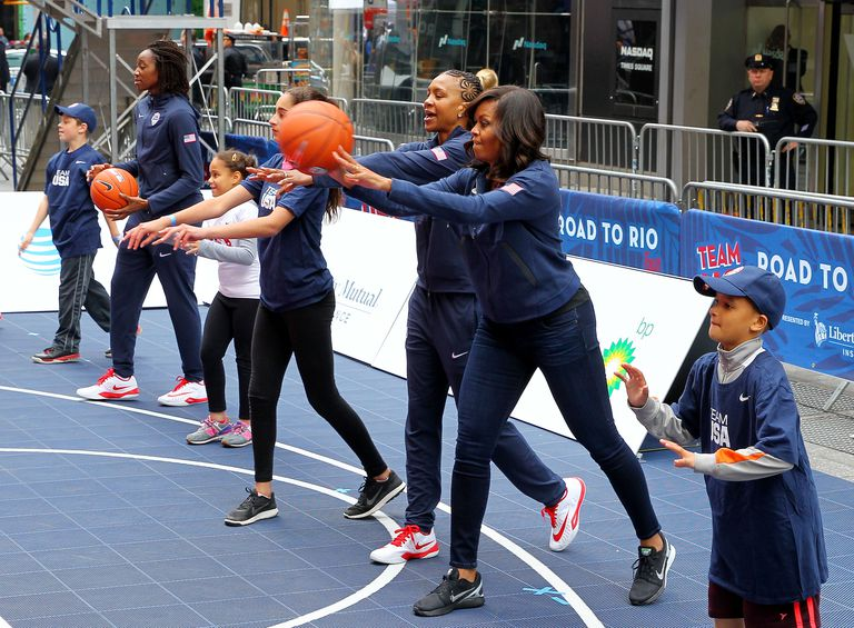 Michelle Obama fitness campaign - 100 Days to the Games