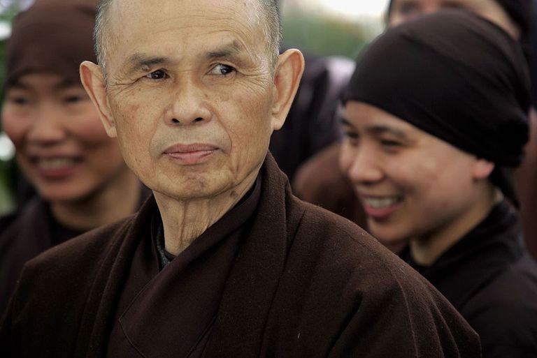 Foto editorial de Thich Nhat Hanh