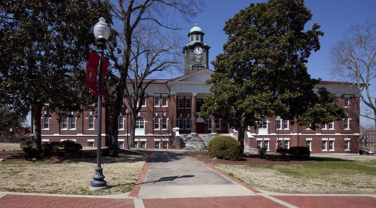White Hall historic building, Tuskegee University, Tuskegee, Alabama