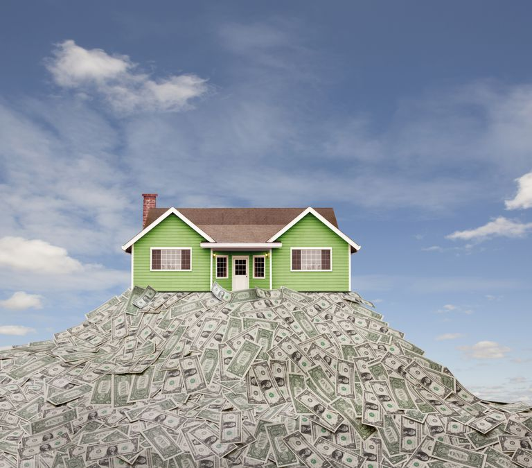 Home on a Pile of Cash