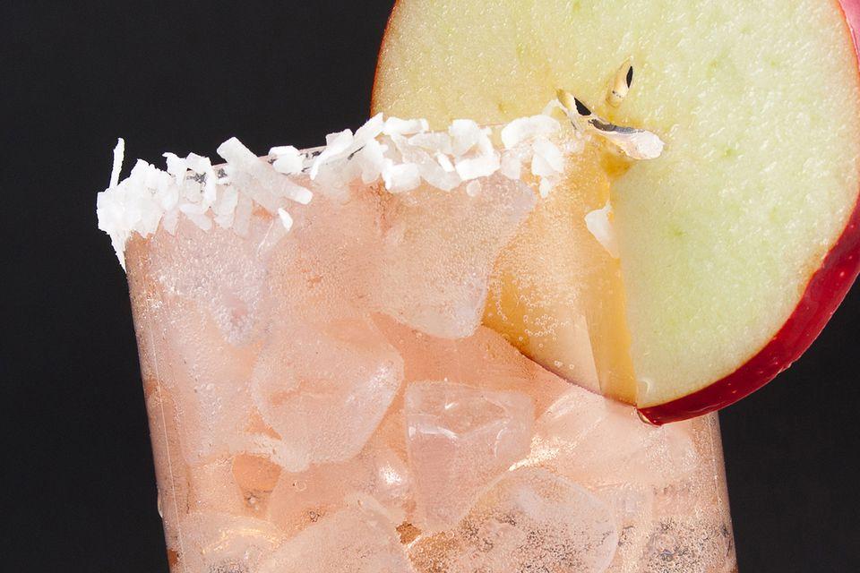 Sam Hernandez's Candy Appley Moonshine Cocktail