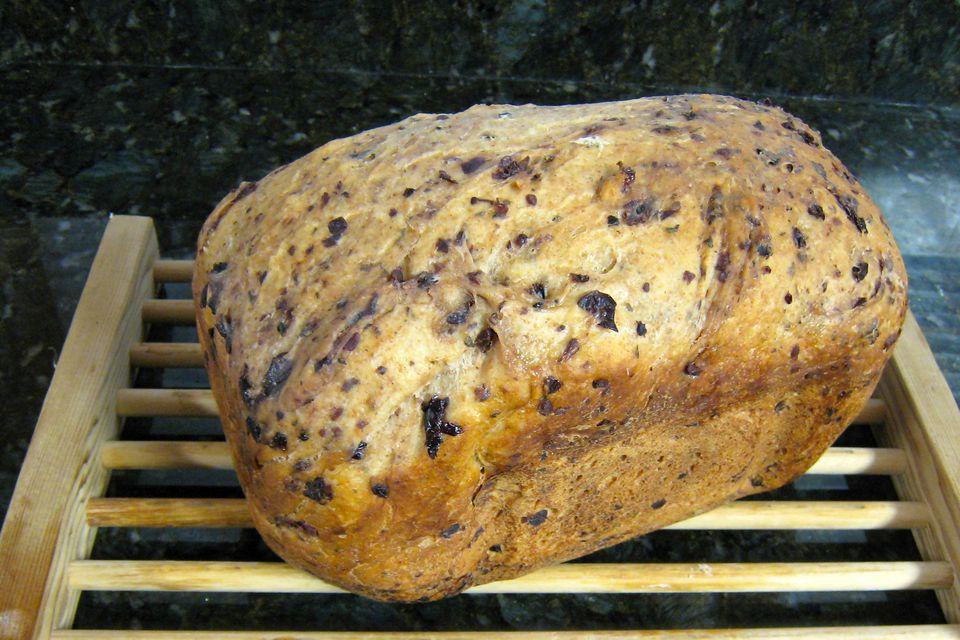 Bread Machine Kalamata Olive Bread