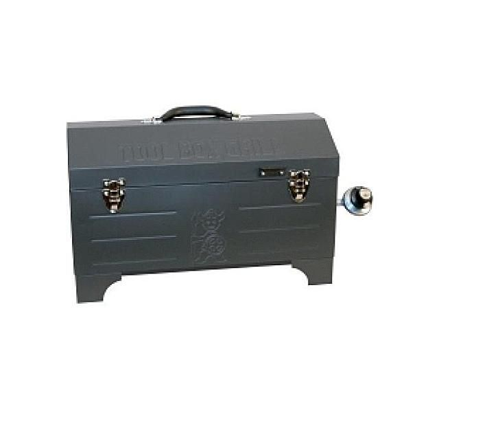 Hans and Plads Tool Box Portable Gas Grill