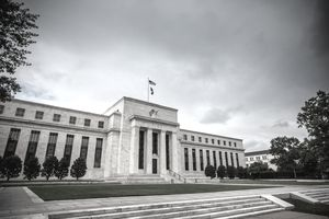 Storm clouds over the Federal Reserve