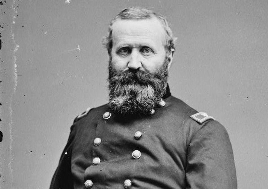 Major General Alexander Hayes in the Civil War