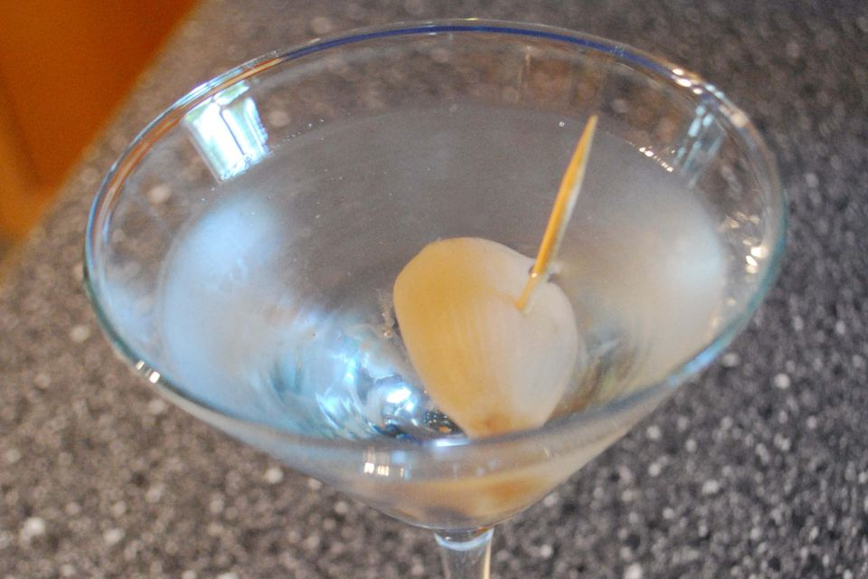 Classic Gibson Cocktail