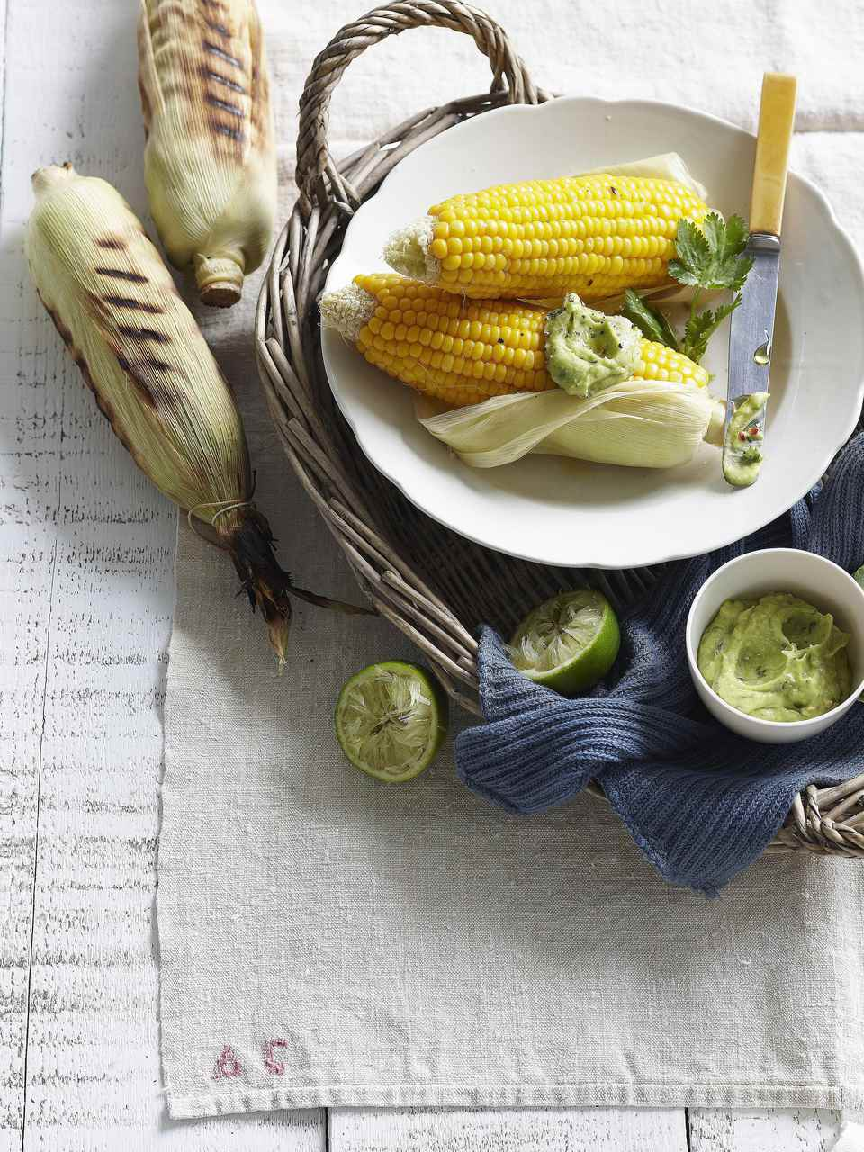 Southwestern Grilled Corn on the Cob