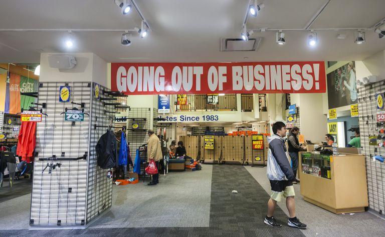 Bankrupt City Sports closing all stores