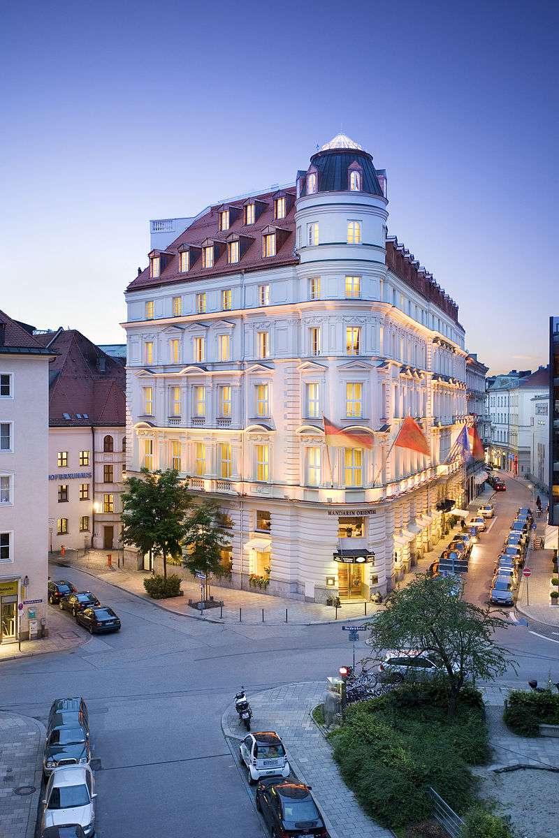 Mandarin Oriental Hotel in Munich