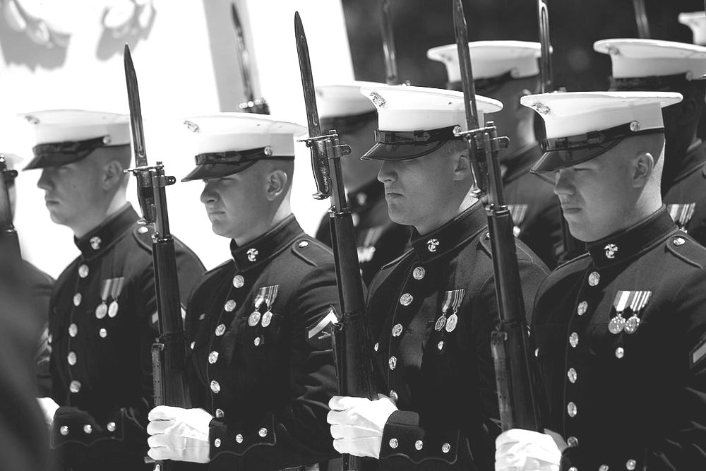 USMC drill