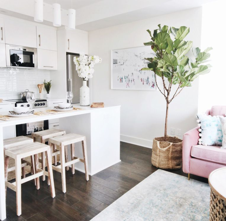 House tour small space big style in a cute condo - Big style small spaces photos ...