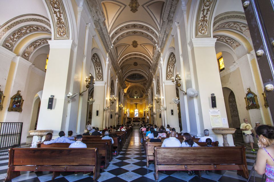 Cathedral of San Juan Bautista, Puerto Rico , USA