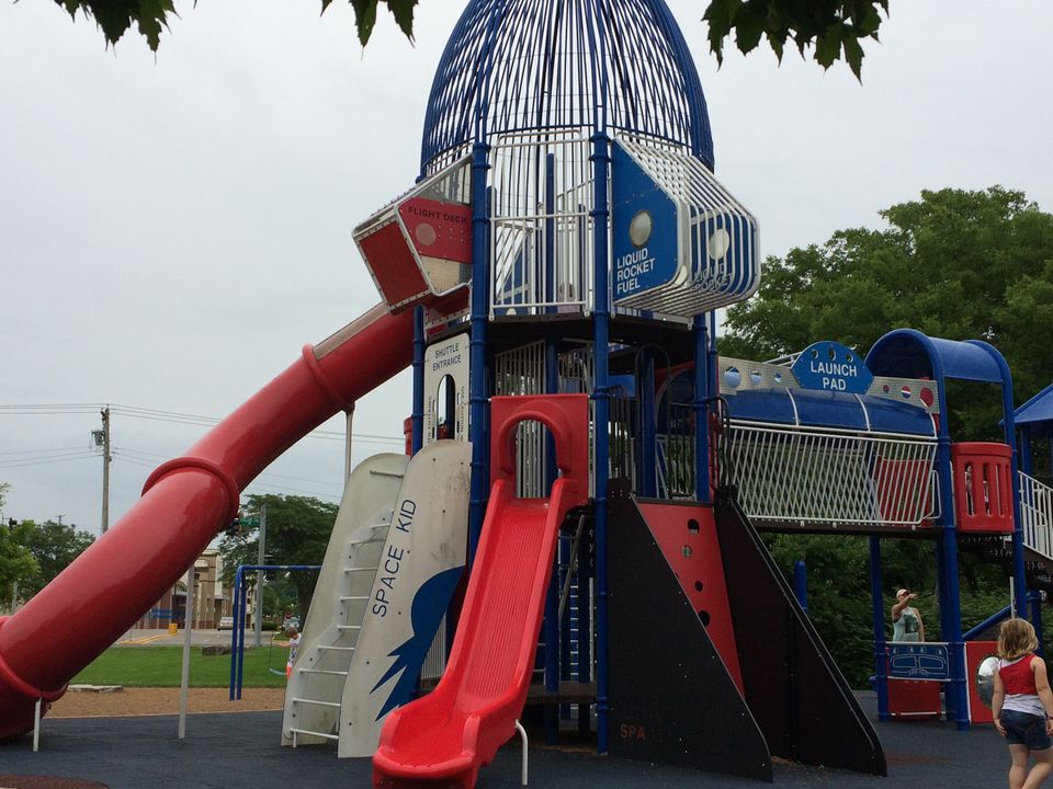 Playground at Deer Creek Park