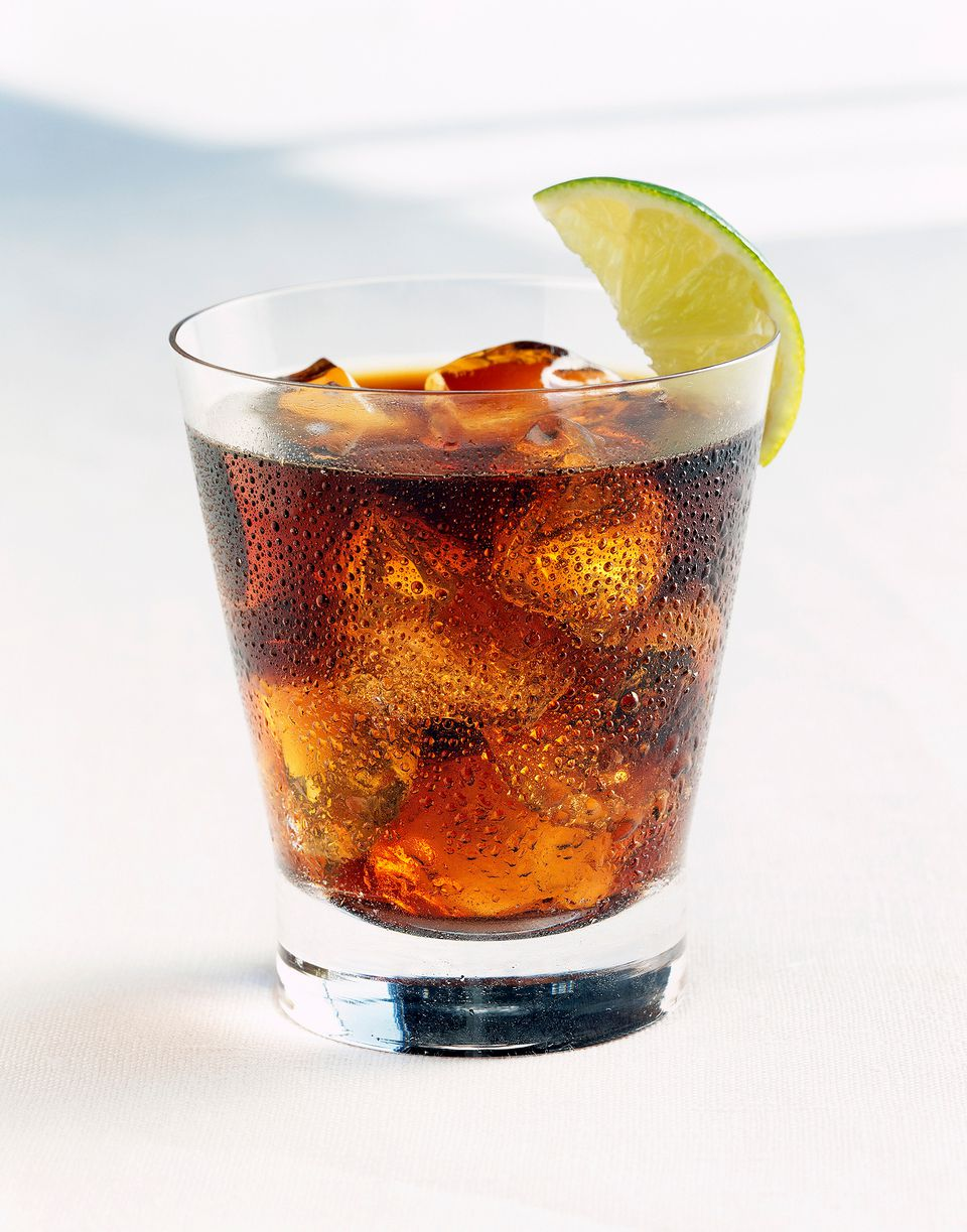 Cocktail name for rum and coke for 7 and 7 drink recipe