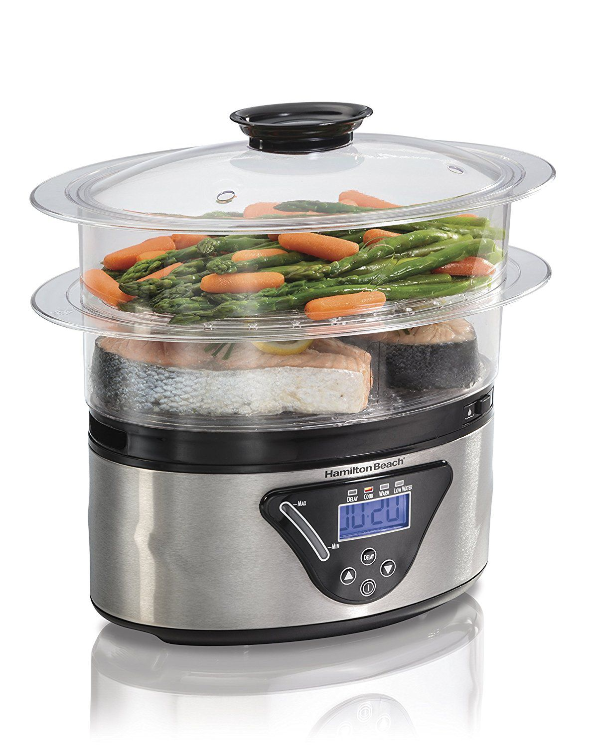 Kitchen Living Food Steamer: The 7 Best Food Steamers To Buy In 2018