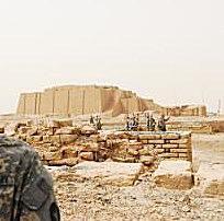 Ur Ziggurat Ruins