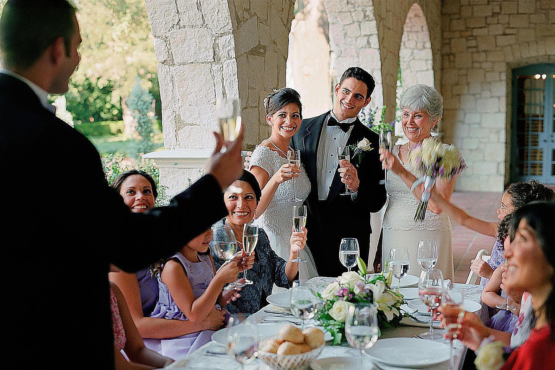 Тост на свадьбу от всей семьи