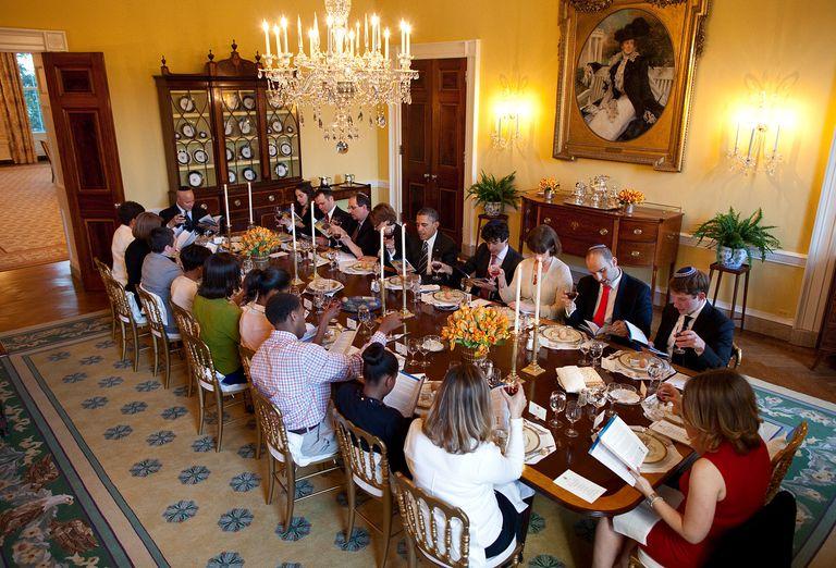 White House Seder in 2012