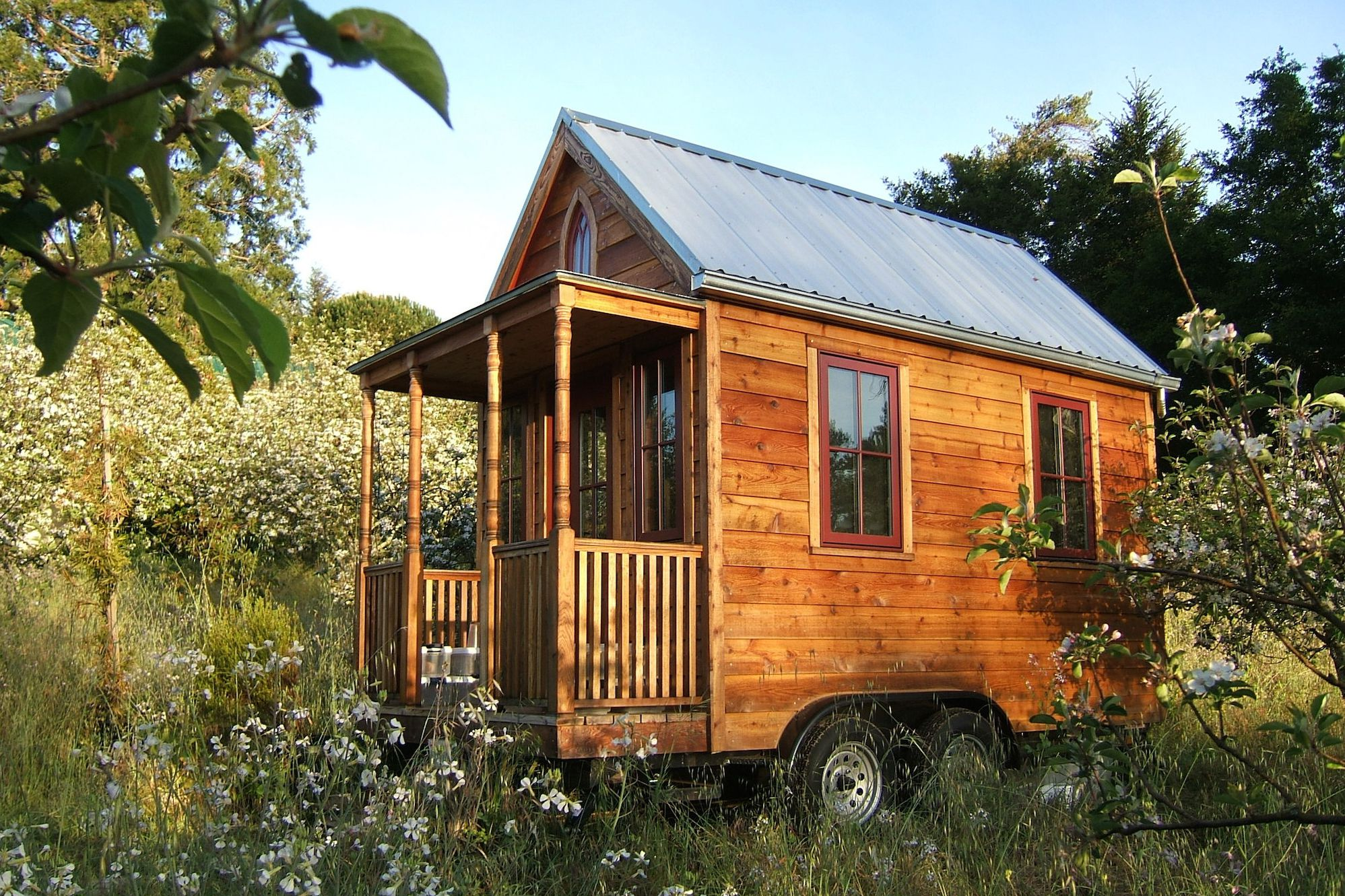 How much does it cost to build or buy a tiny house for How much to build an a frame house