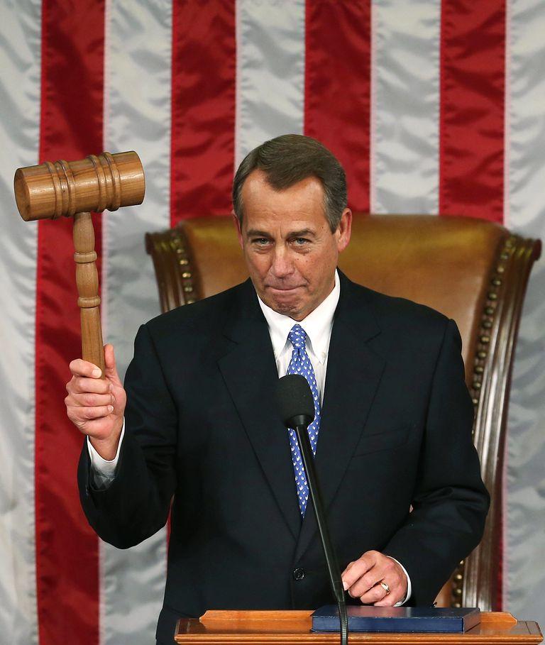Republican U.S. Rep. John Boehner